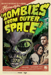 "DVD cover i made for the movie ""Zombies from outer Space"" the first Sci-FI-horror-""heimat-film"". More info at zombiesfromouterspace.de or fear4you.de"