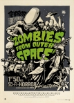 motiveposter in a vintage 50ies comic style. You can buy one at www.zombiesfromouterspace.de